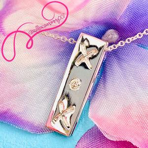 RARE NWOT T&Co Paloma Picasso XOX Diamond Necklace